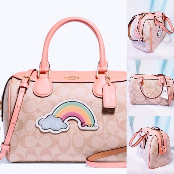 Coach Handbags - 🆕Coach Mini Bennett Rainbow Crossbody Satchel💋